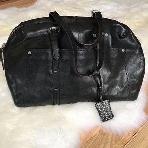 ❤️ HP❤️ Olivia Harris Black Leather Bag